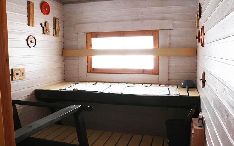 Mökki Suomutunturilla sauna